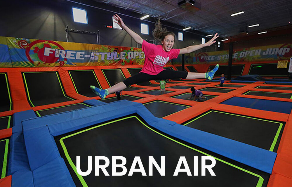 Urban Air located in Legacy 925