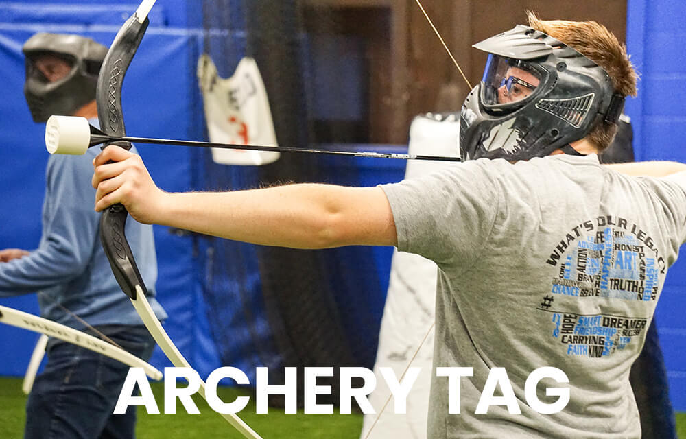 Archery tag at Legacy 925